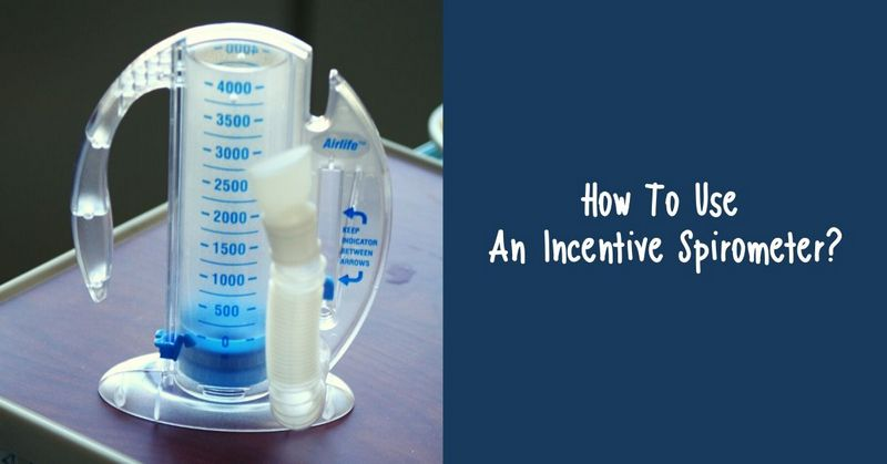 How To Use An Incentive Spirometer_